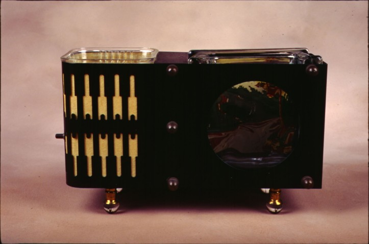 1930s pet bowl caddy
