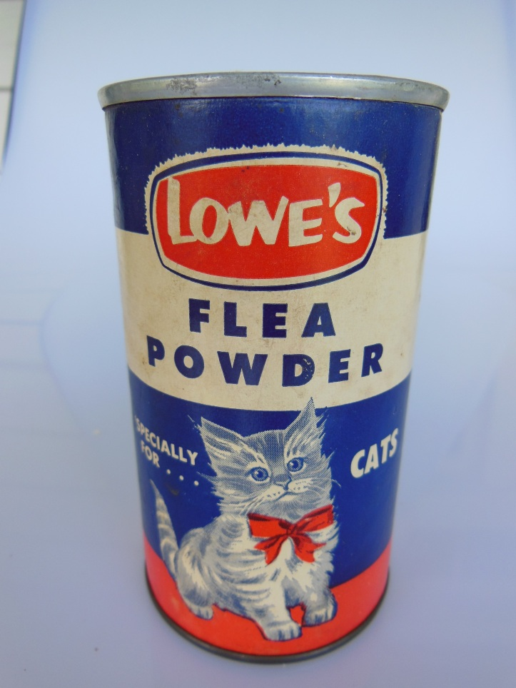 Lowe's cat flea powder